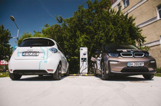 Romania va crea o retea nationala de statii de incarcare pentru masini electrice: fonduri de 53 de milioane de euro intre 2020 si 2025