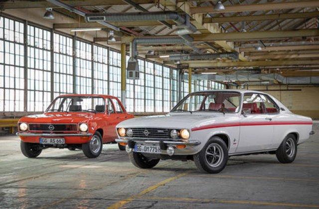 Dubla aniversare in familia Opel: Manta si Ascona implinesc 50 de ani de la debut