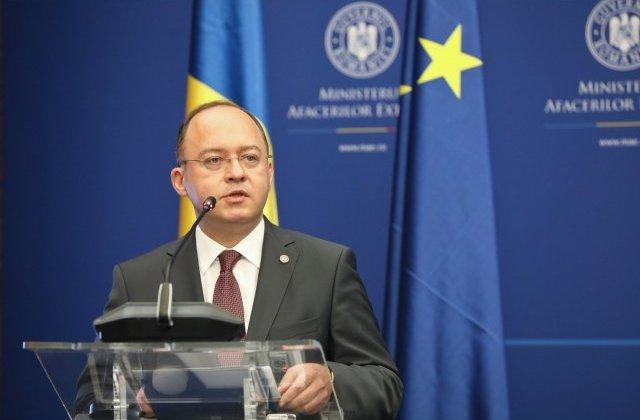 Bogdan Aurescu propune organizarea unui forum economic bilateral