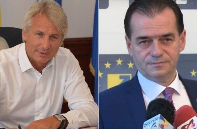 """Teodorovici cere comisie de ancheta pentru depasirea deficitului. Orban: """"Sa se duca sa se trateze"""""""