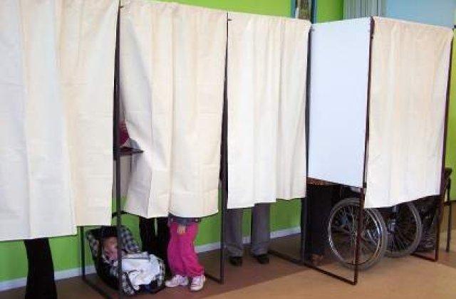 Prezenta la vot in Capitala, la ora 14.00: 20,48%
