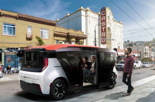 General Motors a primit licenta pentru teste cu masini autonome pe drumurile publice: prototipul Cruise Origin va fi testat in California