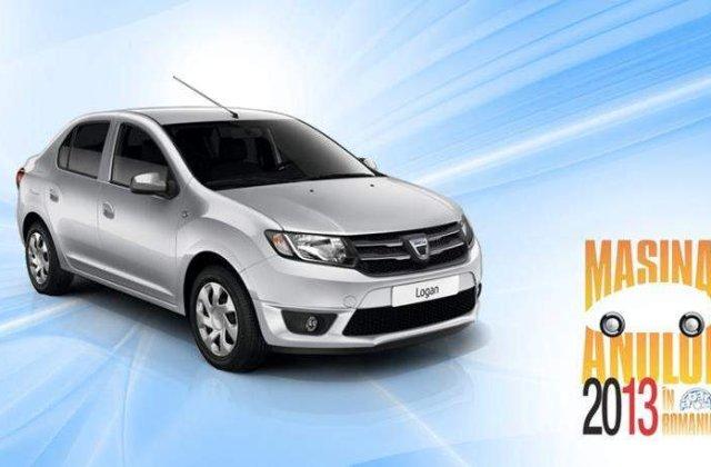 Dacia Logan, masina anului 2013 in Romania. Sandero, locul trei