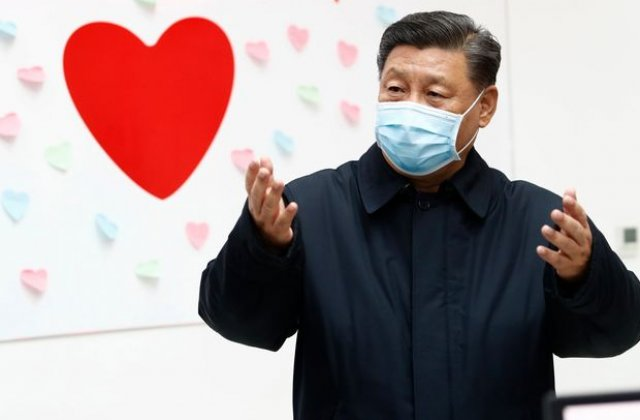 Presedintele Chinei viziteaza regiunea din care a pornit epidemia de coronavirus