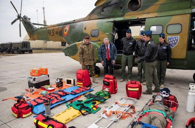 Armata intra in actiune: medici militari trimisi la frontiera
