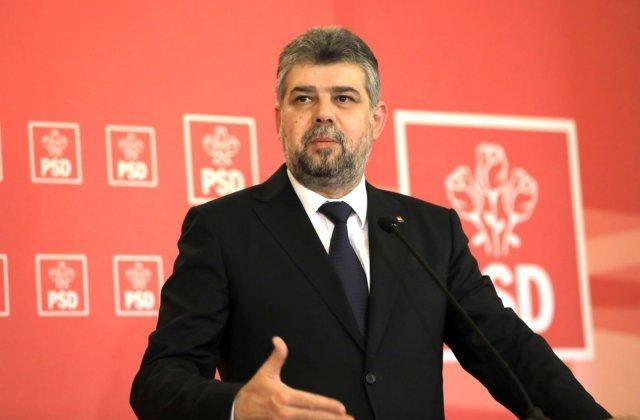 """PMP, USR, PSD si UDMR vor vota Guvernul Orban. Ciolacu: """"Ii rog pe colegii mei sa inteleaga situatia speciala"""""""