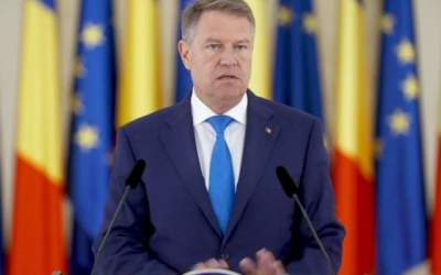 VIDEO Klaus Iohannis, mesaj...