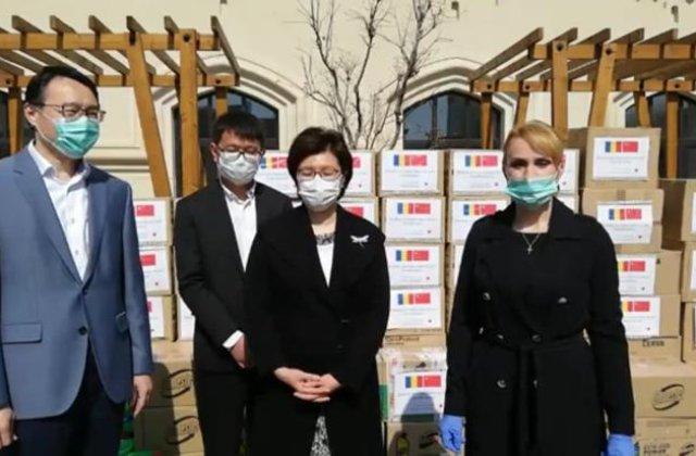 Ambasada Chinei, ajutor pentru Bucuresti in timpul pandemiei de coronavirus