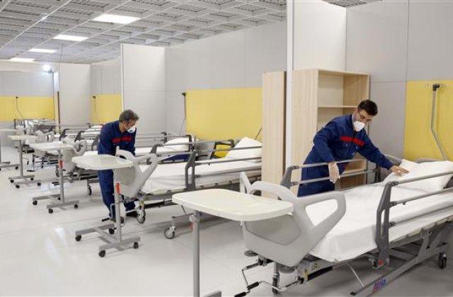 VIDEO Mall transformat în spital cu 3.000 de paturi pentru pacienți cu coronavirus