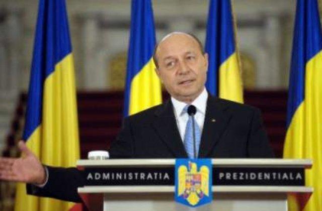Basescu: Anul 2012 nu a fost atat de greu precum pare