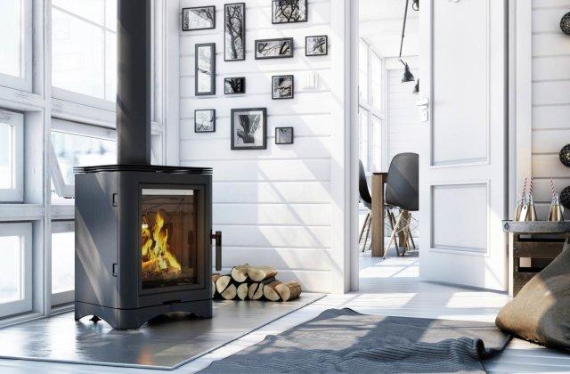 Soba pe lemne - O soluție de încălzire eficientă pentru casele de vacanță