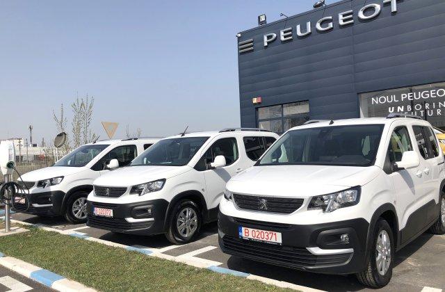"""Trust Motors oferă trei autovehicule Peugeot Institutului Național de Boli Infecțioase """"Prof. Dr. Matei Balș"""""""