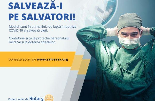 SALVEAZĂ-I PE SALVATORI, campanie pentru personalul medical