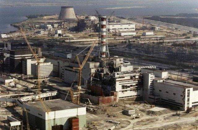 Incendiu în pădurea de la Cernobîl. A crescut nivelul de radioactivitate