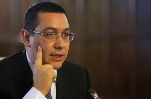 Victor Ponta: Guvernul va tăia salariile oamenilor, la fel ca în 2010