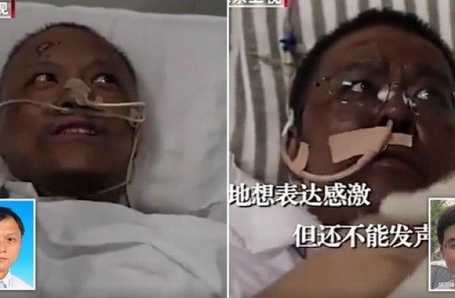 Doi doctori chinezi bolnavi de coronavirus s-au trezit... de culoare