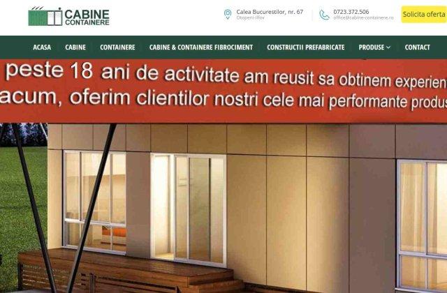Cabine-containere.ro oferă cea mai bună soluție pentru cei care își doresc cabinele de pază potrivite pentru afacerea lor!