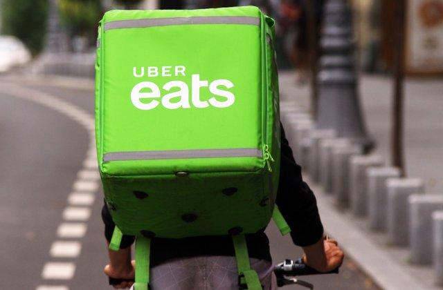Uber Eats a anunțat că se va retrage din România. Cât timp mai este disponibil serviciul de livrare