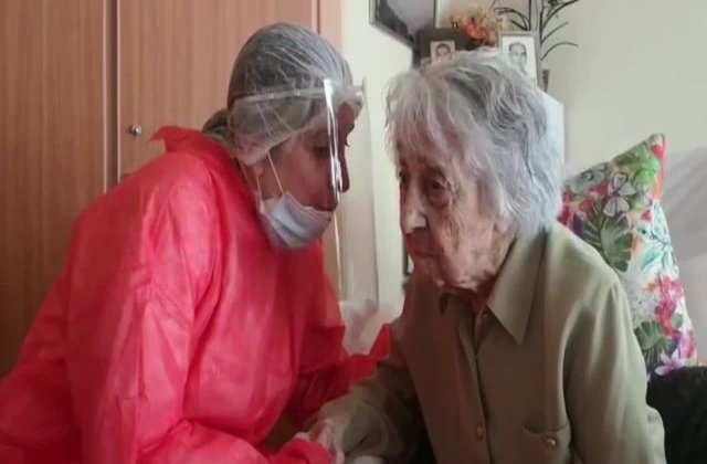 Cea mai bătrână femeie din Spania s-a vindecat de coronavirus
