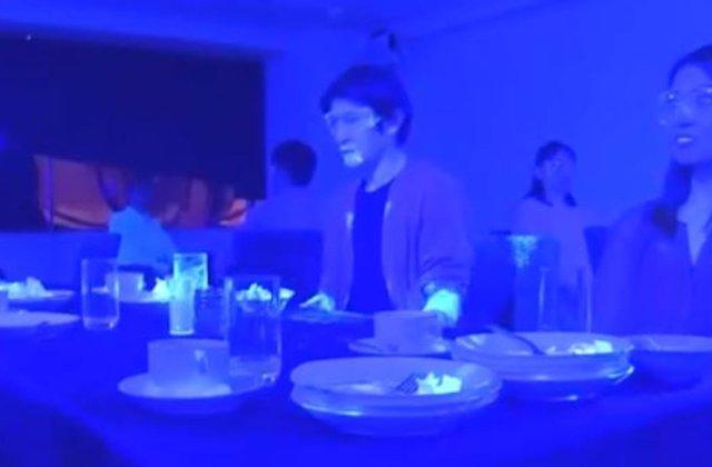 VIDEO Cât de repede se poate răspândi coronavirusul într-un restaurant