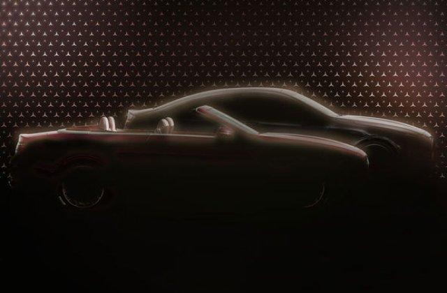 Primele imagini teaser cu viitoarele Mercedes-Benz Clasa E Coupe și Clasa E Cabrio facelift