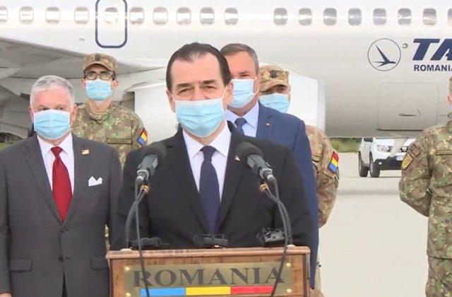 Mai mulți medici militari români s-au deplasat în SUA pentru a oferi ajutor în lupta împotriva Covid-19
