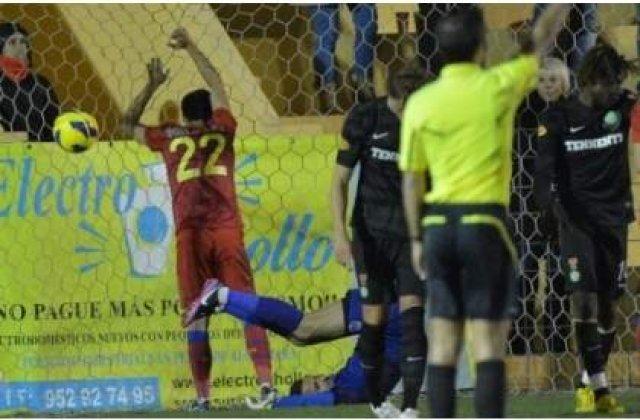 Ros-albastrii, invinsi de echipa antrenata de Dan Petrescu: Steaua - Dinamo Moscova 1-2