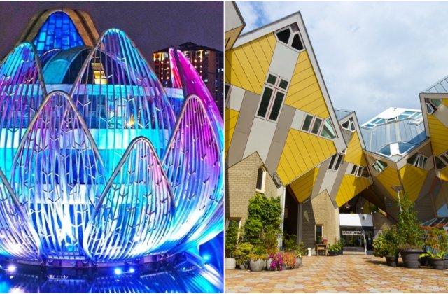14 clădiri uimitoare care te vor face să crezi că ești într-un univers paralel