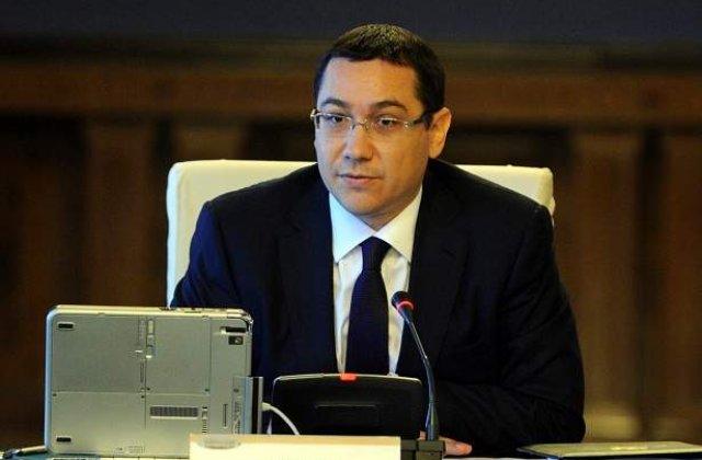 Ponta, despre bugetul de stat: Amendamente pot fi acceptate doar daca exista o baza