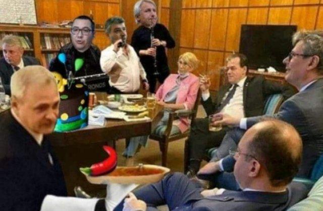 Cele mai bune glume pe seama lui Ludovic Orban la un pahar, în birou
