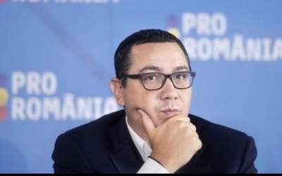 Ponta: Pro România susține...