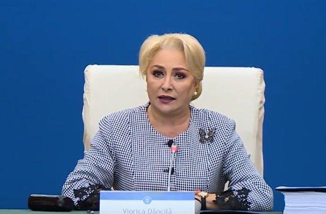 """Dăncilă: """"Din cauza PNL, copiii din România nu au azi, de ziua lor, alocații de 300 de lei pe lună"""""""