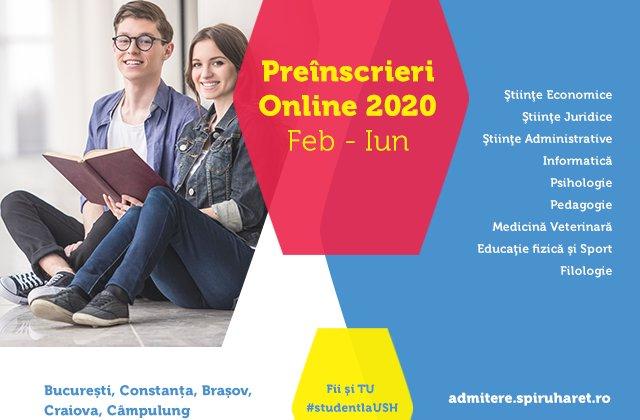 Admitere online la cea mai mare instituție de învățământ superior privat din România