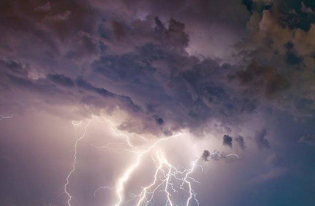 Cod GALBEN de furtună. Care sunt cele 15 județe afectate