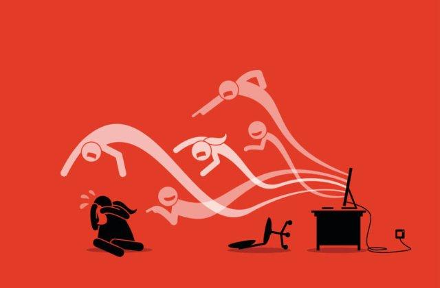 Violența pe internet, incriminată legal. Ce prevede noul proiect de lege