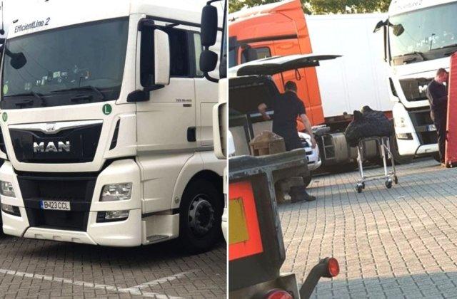 Un șofer român a fost găsit mort în cabina camionului său aflat într-o parcare din Belgia