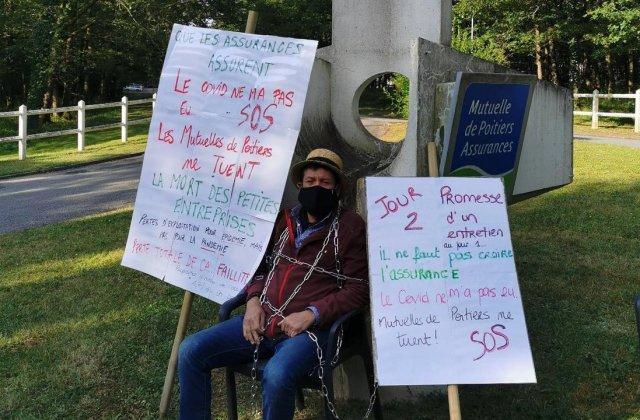 Protestul extrem al unui francez: asigurarea îl despăgubea pentru epidemie, nu și pentru pandemie