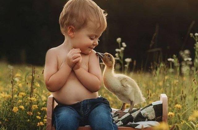 Ne-am topit! 12 imagini care demonstrează iubirea necondiționată dintre copii și animale