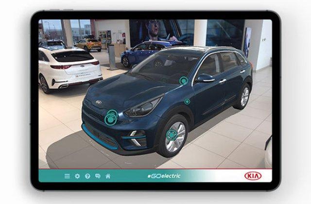 """Kia a lansat o aplicație mobilă pentru promovarea mașinilor electrice: """"Go Electric"""" explică tehnologiile și cum se încarcă bateriile"""