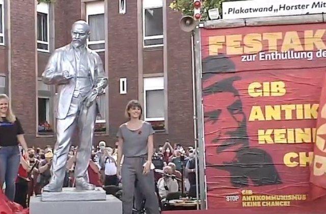 O statuie a lui Lenin a fost ridicată într-un oraș din Germania