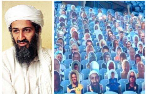 Cum a ajuns Osama bin Laden pe un stadion din Marea Britanie