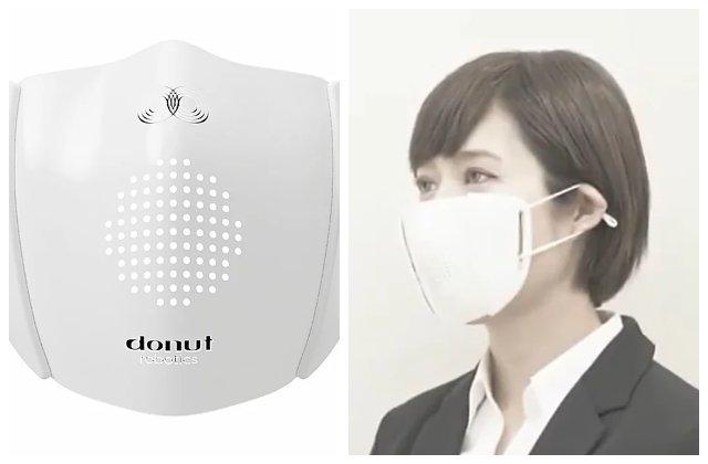 Japonezii au creat masca inteligentă: poți da mesaje și poți efectua apeluri telefonice