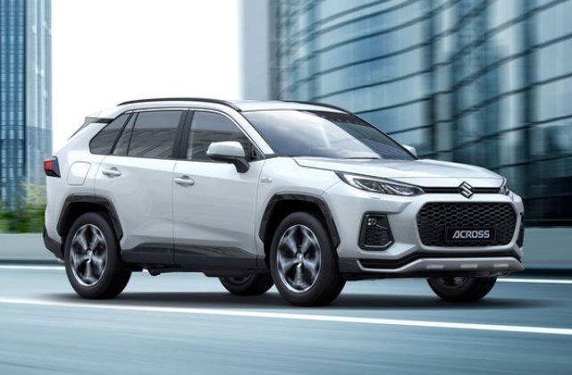 Suzuki lansează SUV-ul Across: modelul are la bază actuala generație Toyota RAV4 și va fi disponibil în Europa doar în versiune plug-in hybrid