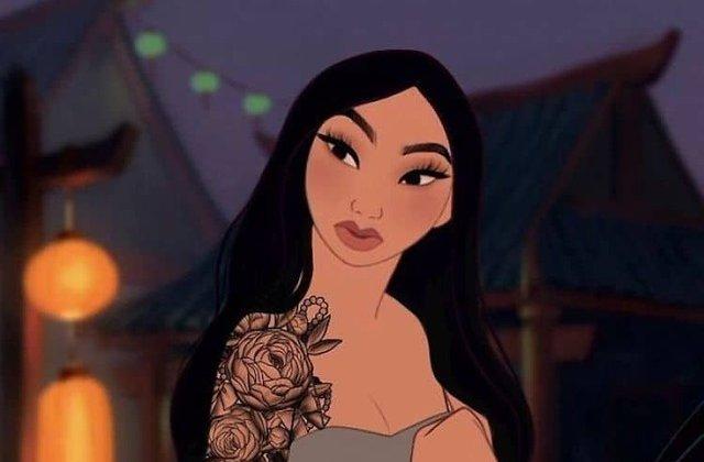 FOTO Cum ar fi arătat prințesele Disney dacă ar fi trăit în zilele noastre
