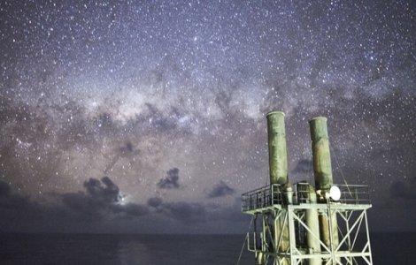 FOTO Cerul așa cum nu l-ai mai văzut, surprins de marinari
