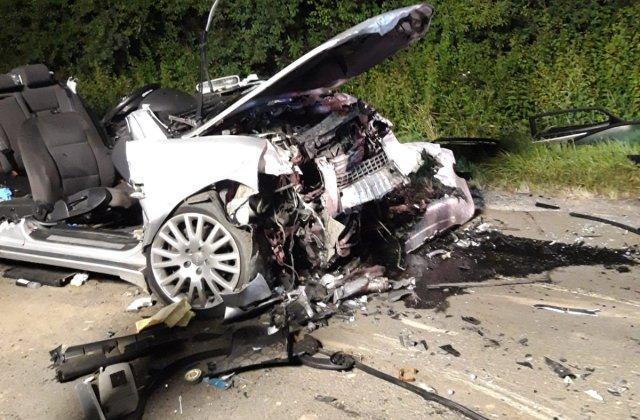 Poliția Română: Ce mai rămâne dintr-o mașină cu volan pe dreapta după un accident