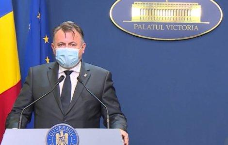 """Tătaru: """"Dacă avem 10.000 de cazuri în 3-4 zile se impune starea de..."""