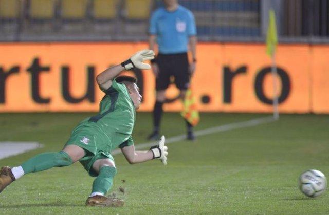 Râsu'-plânsu': Penalty bătut și ratat de trei ori în meciul Petrolul - Rapid, din Liga a II-a
