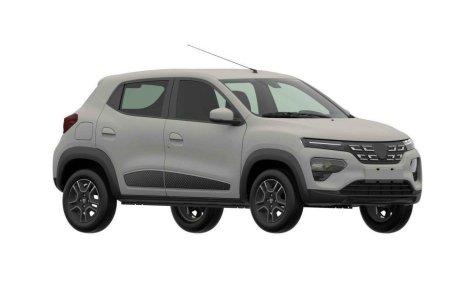 Imagini cu Dacia Spring: SUV-ul electric apare într-o serie de brevete