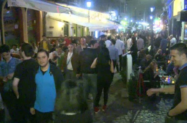 Poliția a dat amenzi de 250.000 de euro în Capitală pentru nerespectarea restricțiilor